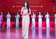45 thí sinh vào vòng Chung kết Hoa khôi Sinh viên Việt Nam 2017