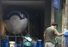 """Đình chỉ cơ sở sản xuất nước đóng bình """"24h Quốc tế"""" do nhiều sai phạm"""