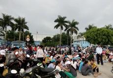 Thanh Hóa: Hàng nghìn công nhân lại đình công đòi quyền lợi
