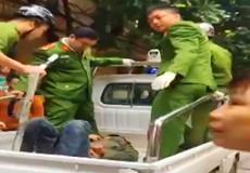 Công an nổ súng cứu một phụ nữ bị kẻ ngáo đá khống chế