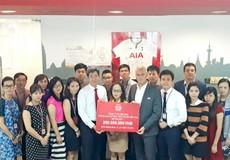 AIA kịp thời hỗ trợ đồng bào bị lũ lụt miền Trung