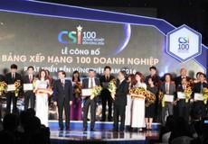 Suntory PepsiCo Việt Nam nằm trong Top 100 Doanh Nghiệp Bền Vững