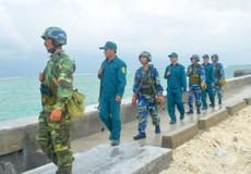Bộ đội đảo Sinh Tồn thi đua 65 ngày đêm quyết thắng