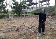 Hà Tĩnh: Người bị cưỡng chế phá dỡ nhà khiếu nại chính quyền địa phương