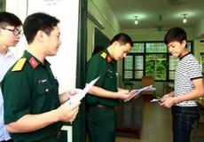 """Xét tuyển vào các trường quân đội: Tại sao thí sinh phải """"quyết tâm"""" từ NV1?"""