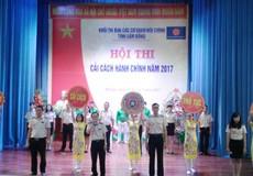 Lâm Đồng: Hội thi Cải cách hành chính năm 2017