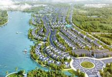 Biệt thự Long Cảnh Vinhomes Thăng Long gây ấn tượng với vị trí đẹp ven hồ