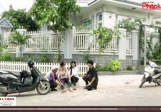 Đưa pháp luật bằng phim ảnh vào cuộc sống - Cái chân chống xe