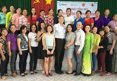 Vĩnh Long: Tổ chức tập huấn nâng cao kỹ năng lãnh đạo kinh doanh cho 400 phụ nữ