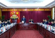 Thủ tướng Chính phủ làm việc với lãnh đạo chủ chốt tỉnh Bắc Kạn