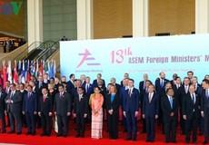 Hội nghị Bộ trưởng Ngoại giao ASEM 13 kết thúc tốt đẹp