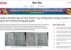 Sai phạm của lãnh đạo xã Tam Thanh: Chủ tịch UBND tỉnh giao cơ quan Thanh tra kiểm tra, rà soát
