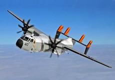 Máy bay Hải quân Mỹ chở 11 người rơi xuống biển