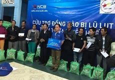 NCB hỗ trợ người dân bị thiệt hại sau mưa lũ tại Tỉnh Thừa Thiên Huế