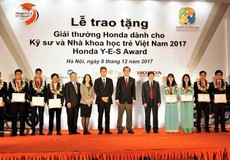 Trao tặng Giải thưởng Honda Y-E-S lần thứ 12 dành cho Kỹ sư và Nhà khoa học trẻ Việt Nam