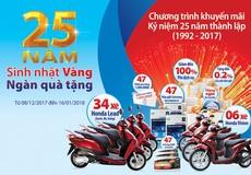 Mừng 25 năm thành lập, Ngân hàng Bản Việt tri ân khách hàng với hơn trăm ngàn quà tặng