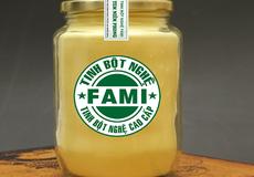 Tinh bột nghệ FAMI thành công nhờ sản phẩm xanh sạch