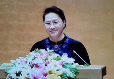 Chủ tịch Quốc hội Nguyễn Thị Kim Ngân gửi lời chia buồn đến các gia đình bị thiệt hại do mưa lũ
