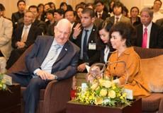 2 vị tổng thống, 2 hộp sữa và cú đột phá mới của bà Thái Hương