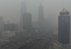 Khói bụi ô nhiễm chẳng khác nào tận thế ở Trung Quốc