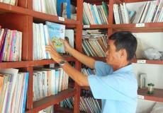 """Vĩnh Long: Vợ chồng lão nông """"biến"""" """"tủ sách pháp luật"""" thành thư viện"""