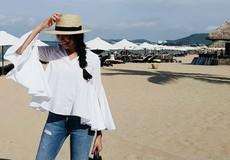 Chọn đồ đi nghỉ hè đẹp như sao Việt