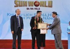 """Sun World Ba Na Hills ba lần liên tiếp nhận danh hiệu """"Khu du lịch hàng đầu Việt Nam"""""""