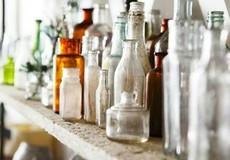 Tái chế chai thủy tinh đã sử dụng