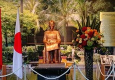 Khánh thành tượng Chủ tịch Hồ Chí Minh tại Nhật Bản