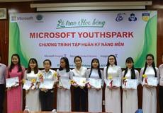 Trao Học bổng Microsoft YouthSpark cho 80 nữ sinh viên công nghệ