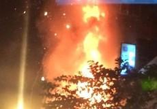 Hà Nội: Cháy trụi thẩm mỹ viện trên phố Kim Mã