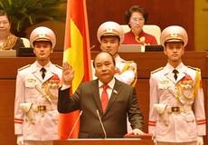 Ông Nguyễn Xuân Phúc được bầu làm Thủ tướng nước CHXHCN Việt Nam