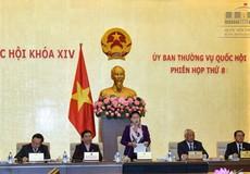 Bế mạc phiên họp thứ 8 của UBTVQH