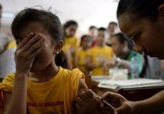 Hơn 700.000 trẻ em Philippines bị tiêm văcxin 'nguy hiểm'
