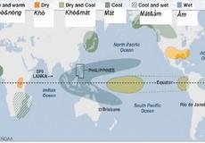 Thời tiết bất thường vào cuối Thu do hiện tượng La Nina