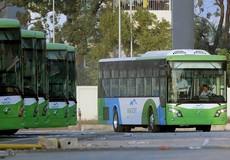 Xe buýt nhanh Hà Nội - mới thử nghiệm đã gặp trở ngại