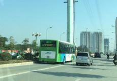 Lối khó cho xe buýt nhanh Hà Nội