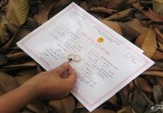 Bản chính kết hôn không phù hợp với giấy tờ khác, xử lý thế nào?