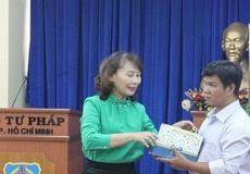 Ra mắt Bộ Sách nói về pháp luật cho người mù