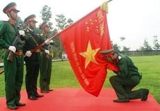 Thiêng liêng Lễ tuyên thệ chiến sĩ mới