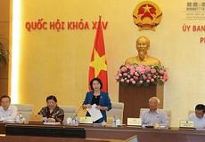 """Phiên họp của Ủy ban Thường vụ Quốc hội: Báo chí được dự """"tùy từng nội dung"""""""