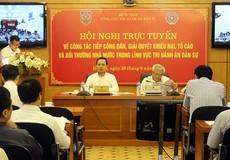 Tăng cường giám sát và cá thể hóa trách nhiệm cán bộ tiếp công dân