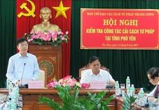 Bộ trưởng Lê Thành Long ghi nhận thành quả cải cách tư pháp tại Phú Yên