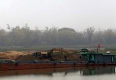 Đình chỉ 3 thanh tra viên liên quan đến khai thác cát trái phép ở Bắc Ninh