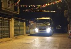 Mê Linh, Hà Nội: Xe tải chở đất từ nội thành 'tuồn' về ngoại ô?