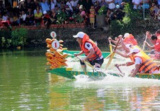 Hà Tĩnh: Tổ chức đua thuyền mừng Tết Độc lập 2/9