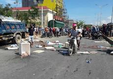 Hà Tĩnh: Dân chặn xe chở hải sản thối khiến quốc lộ ách tắc