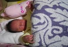 TT- Huế: Một bé trai sơ sinh bị bỏ rơi trong vườn