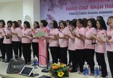 'Tháng 10 Hồng' tại Trung tâm Ung Bướu – Bệnh viện TW Huế