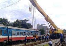 Vừa thi công, vừa khai thác dẫn đến sự cố trật bánh tàu tại ga Yên Viên